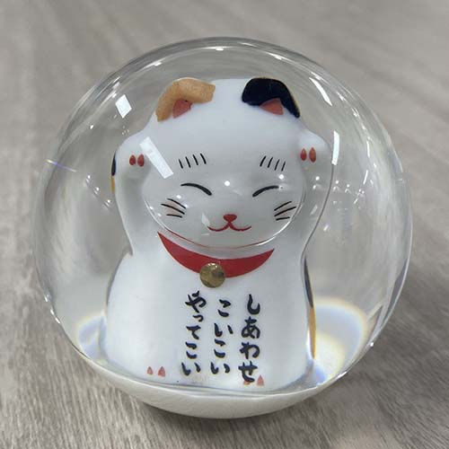 Fortune Cat Shift Knob front view