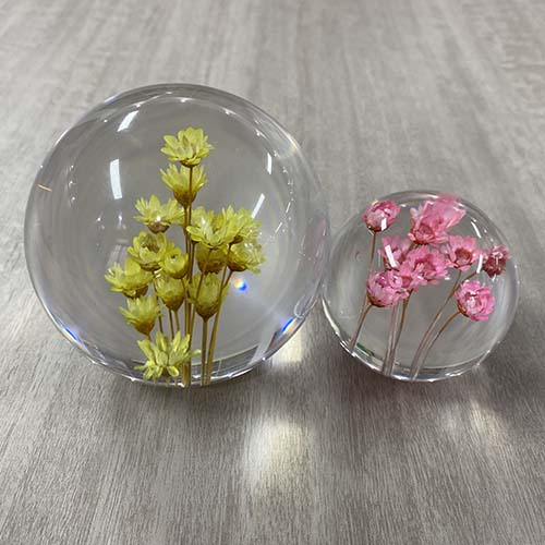 Little Star Flower Paperweight Feature Image