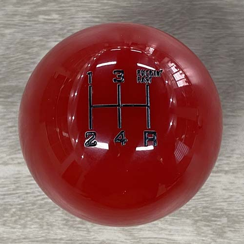 5 Speed Manual Shift Knob in Red